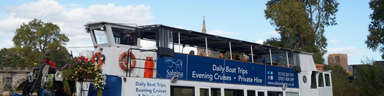 Sabrina Boat Day Trips