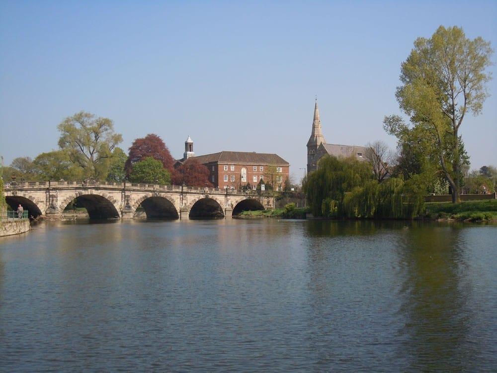 English Bridge Shrewsbury