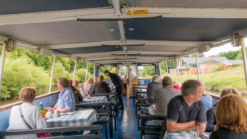 Sabrina Boat Top Deck
