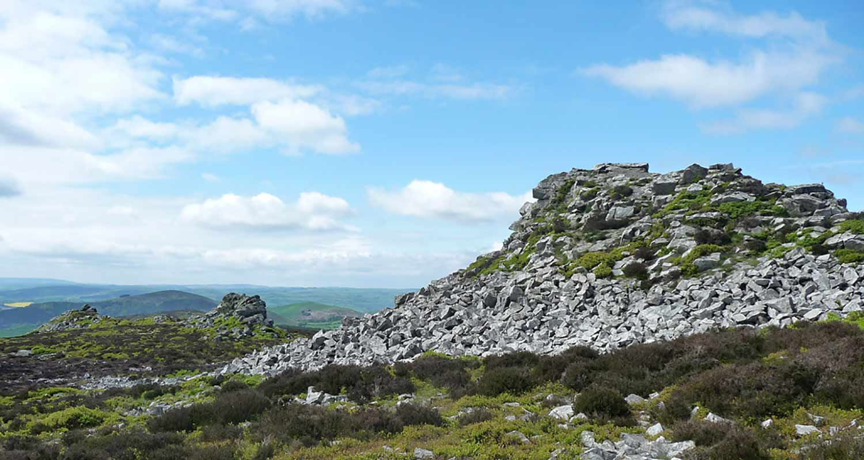 Cranberry Rock - Shropshire Area of Outstanding Beauty near Shrewsbury