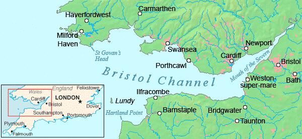 River Severn Ends Bristol