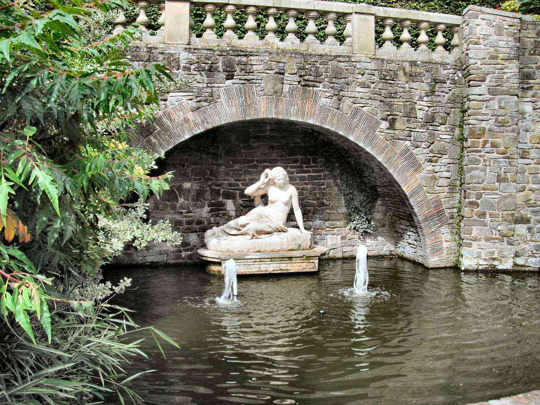 Sabrina Statue Shrewsbury Quarry