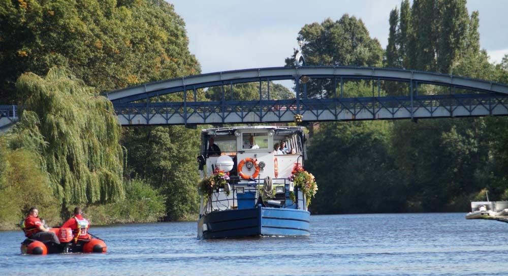 Kingsland Bridge Shrewsbury