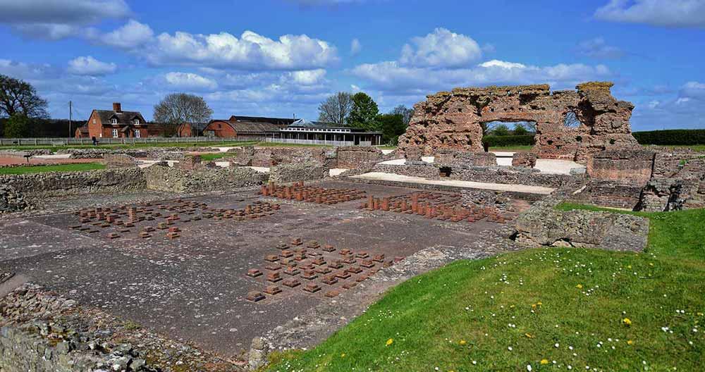 Wroxeter Roman City Shropshire