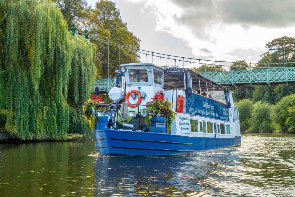 Sabrina Boat Things to Do Shrewsbury